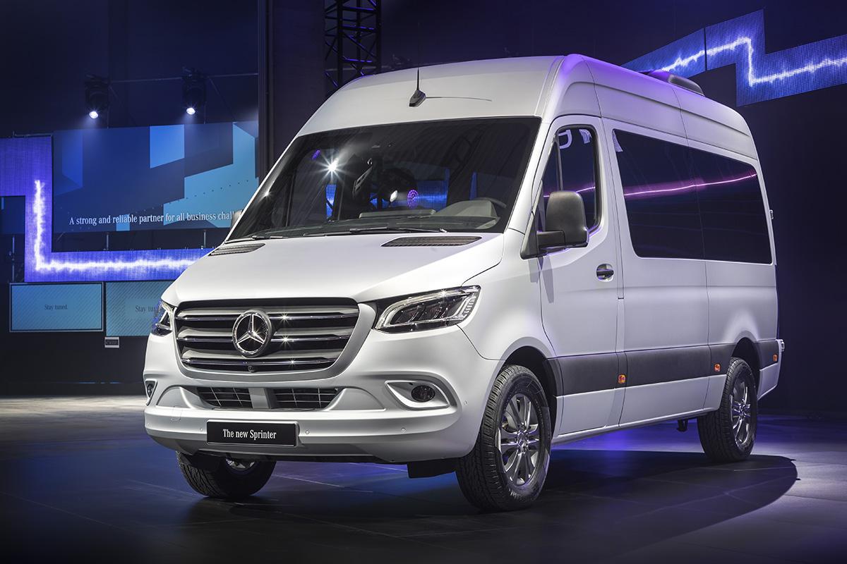 Nya Mercedes Sprinter: Uppkopplad med personbilskänsla ...