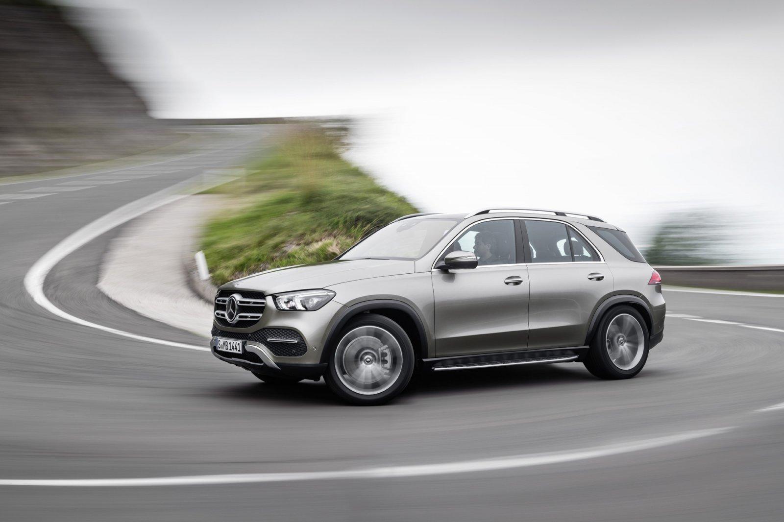 Nya Mercedes-Benz GLE