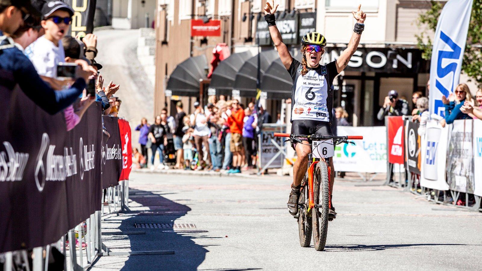 Marika Wagner vinnare i damklassen.