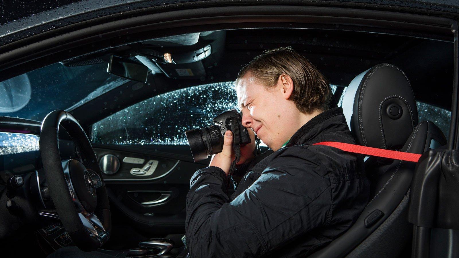 Bilar är min stora hobby och speciellt då Mercedes-Benz.