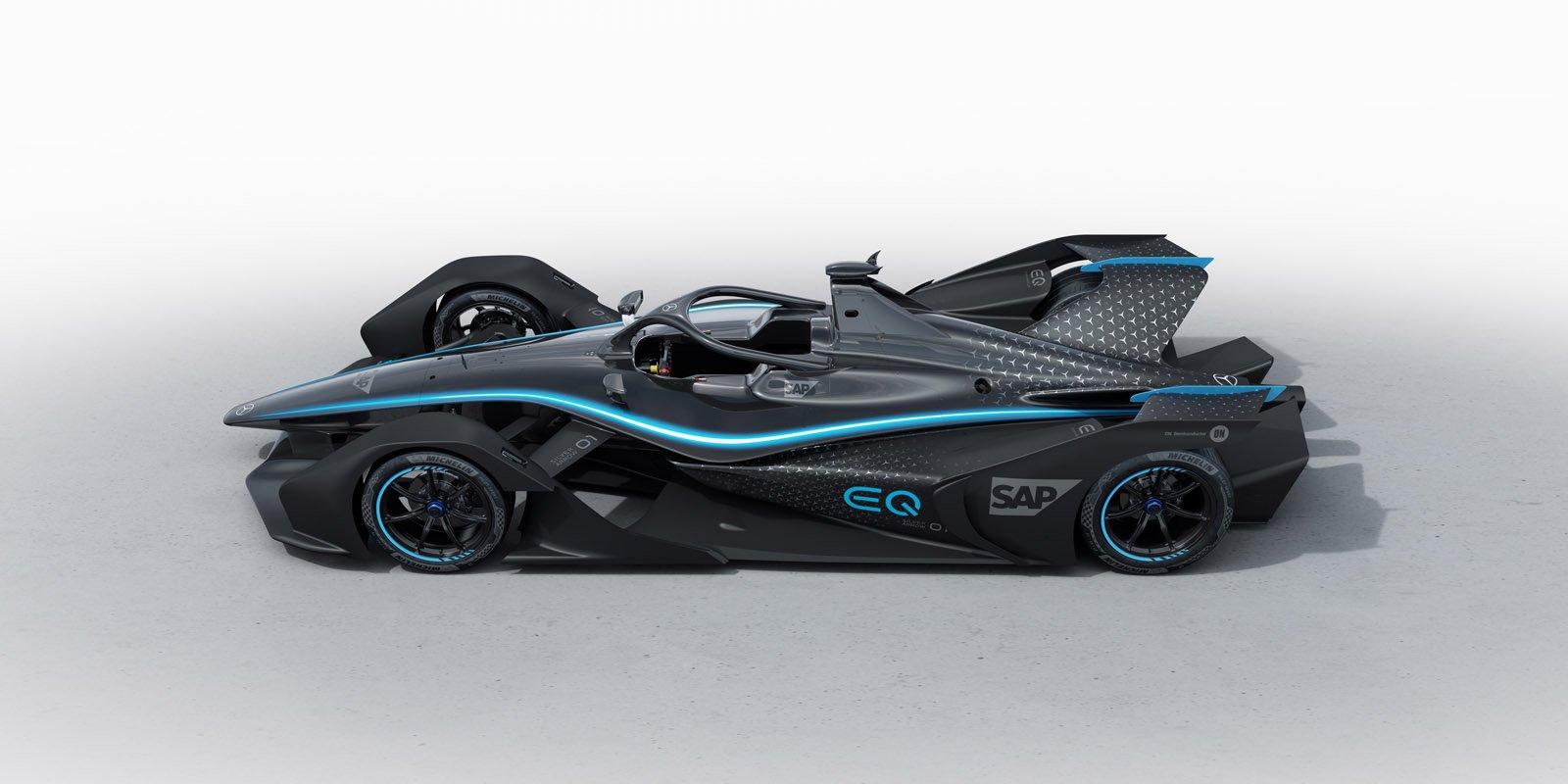 Mercedes-Benz EQ Formula E Team, Teaser Car Mercedes-Benz EQ Formula E Team, Teaser Car