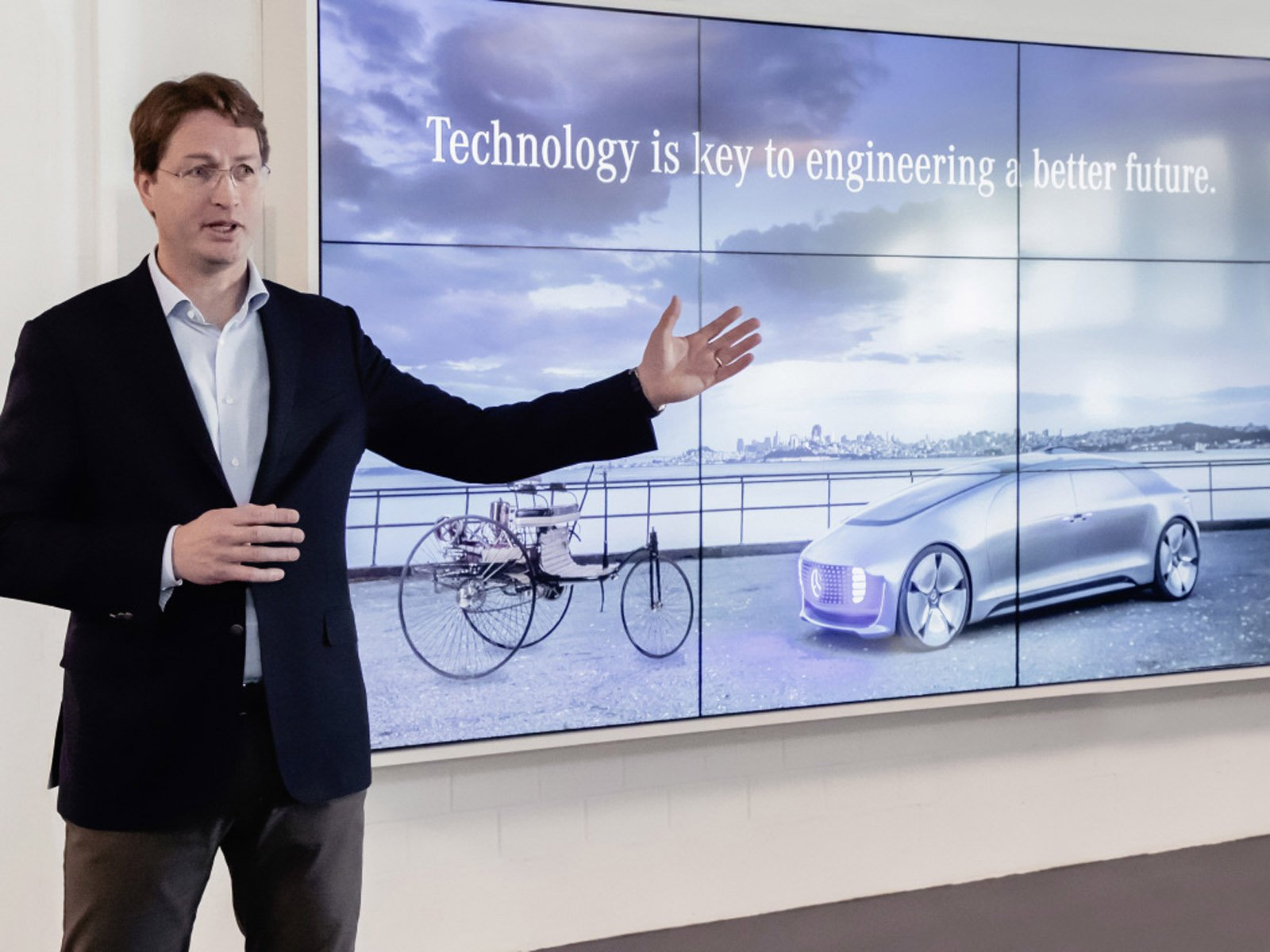 Daimlers koncernchef Ola Källenius.