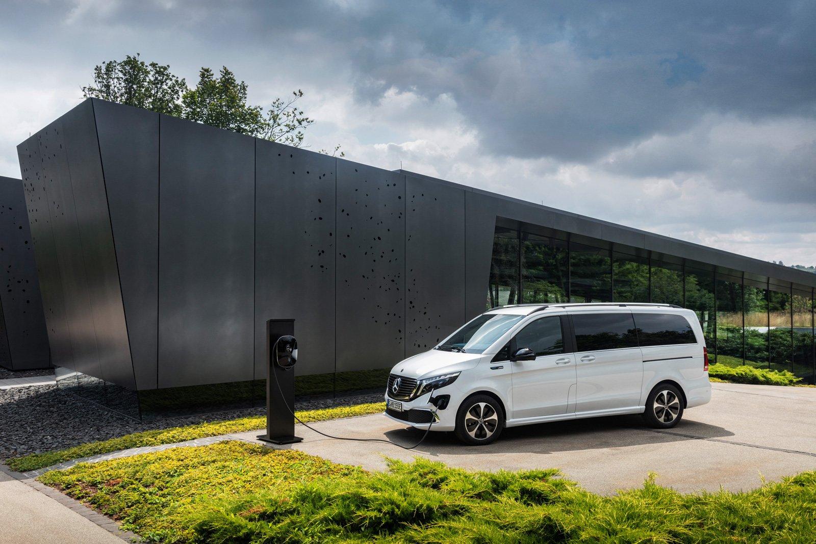 Mercedes-Benz Wallbox Home.