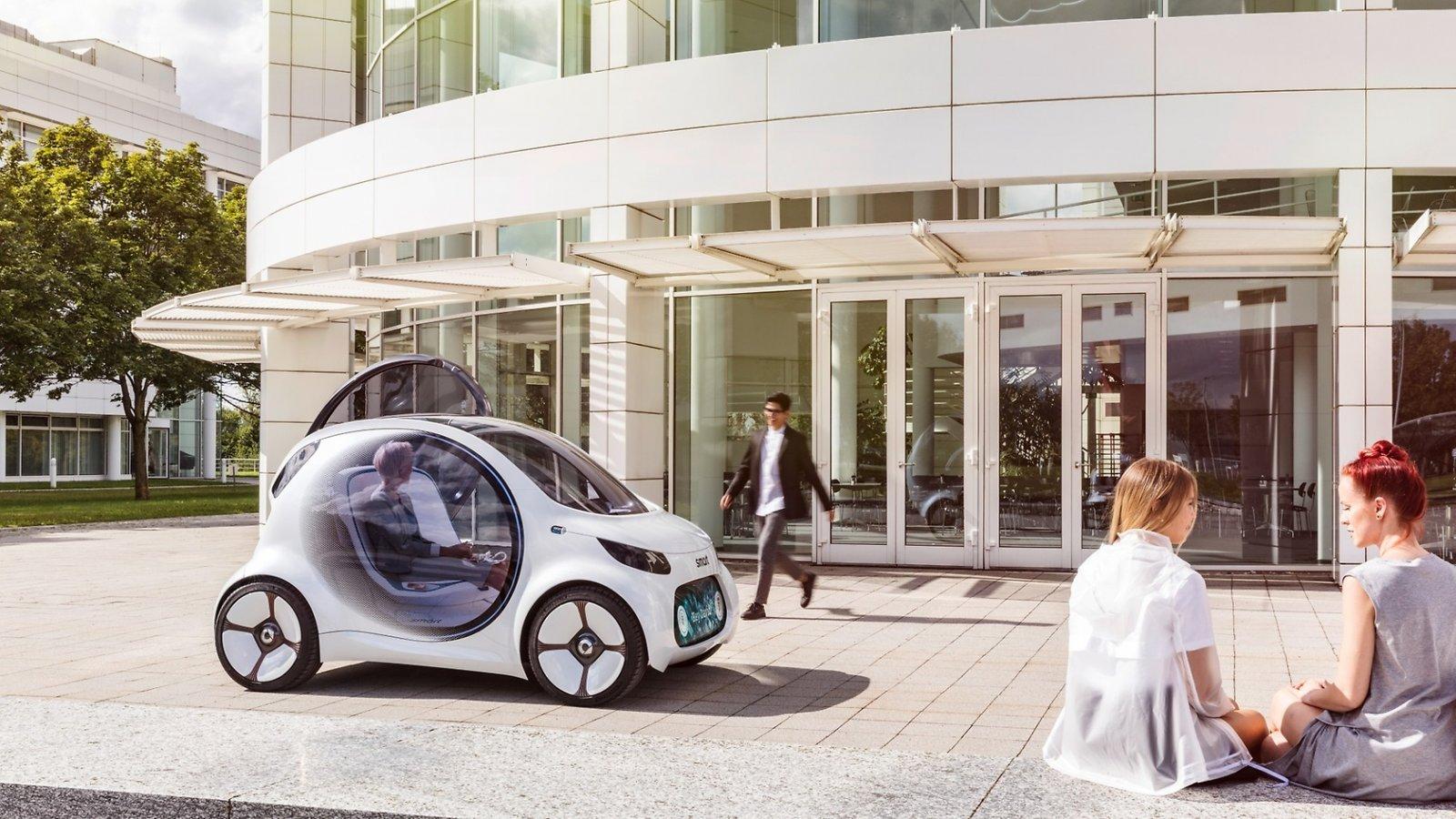 Vare sig det blir egna bilar, bildelning eller kollektivtrafik kommer mobilitet vara utsläppsfritt i framtiden.