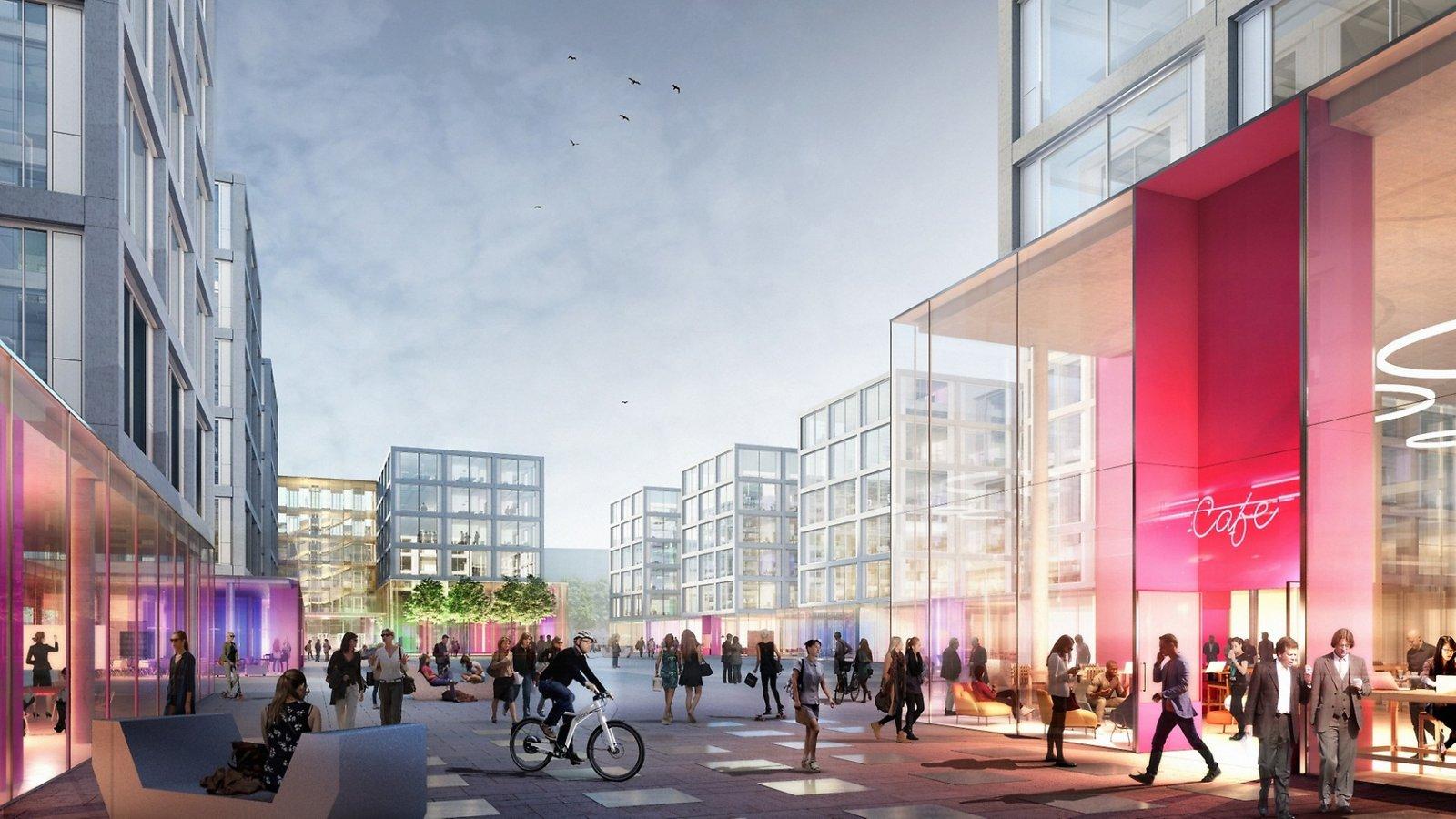 Stadskoncepten blir mer integrerade och sammanlänkade.