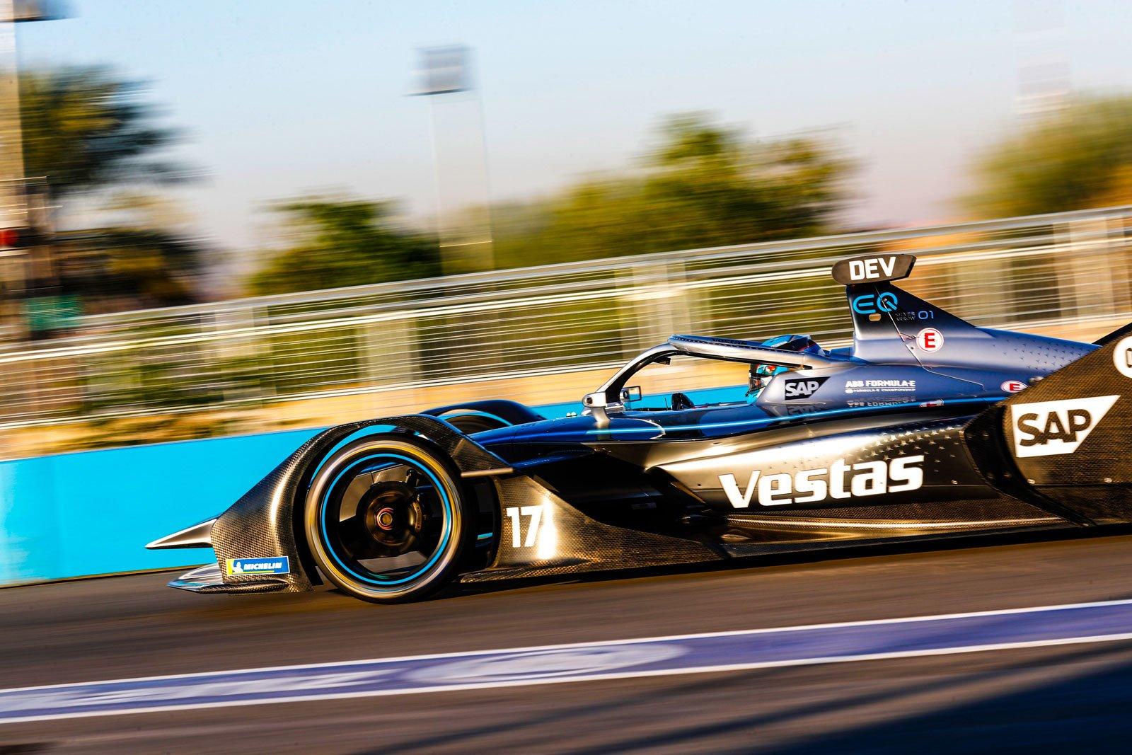 Formula E - Mercedes-Benz EQ Formula E Team, Diriyah E-Prix 2019. Nyck de Vries.