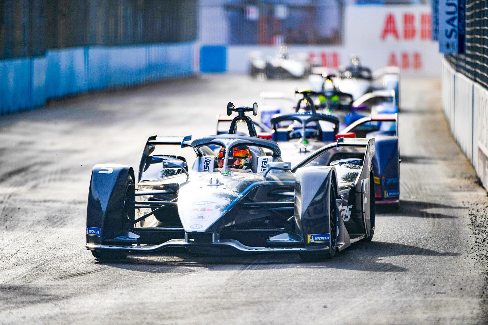 Formula E - Mercedes-Benz EQ Formula E Team, Diriyah E-Prix 2019. Stoffel Vandoorne