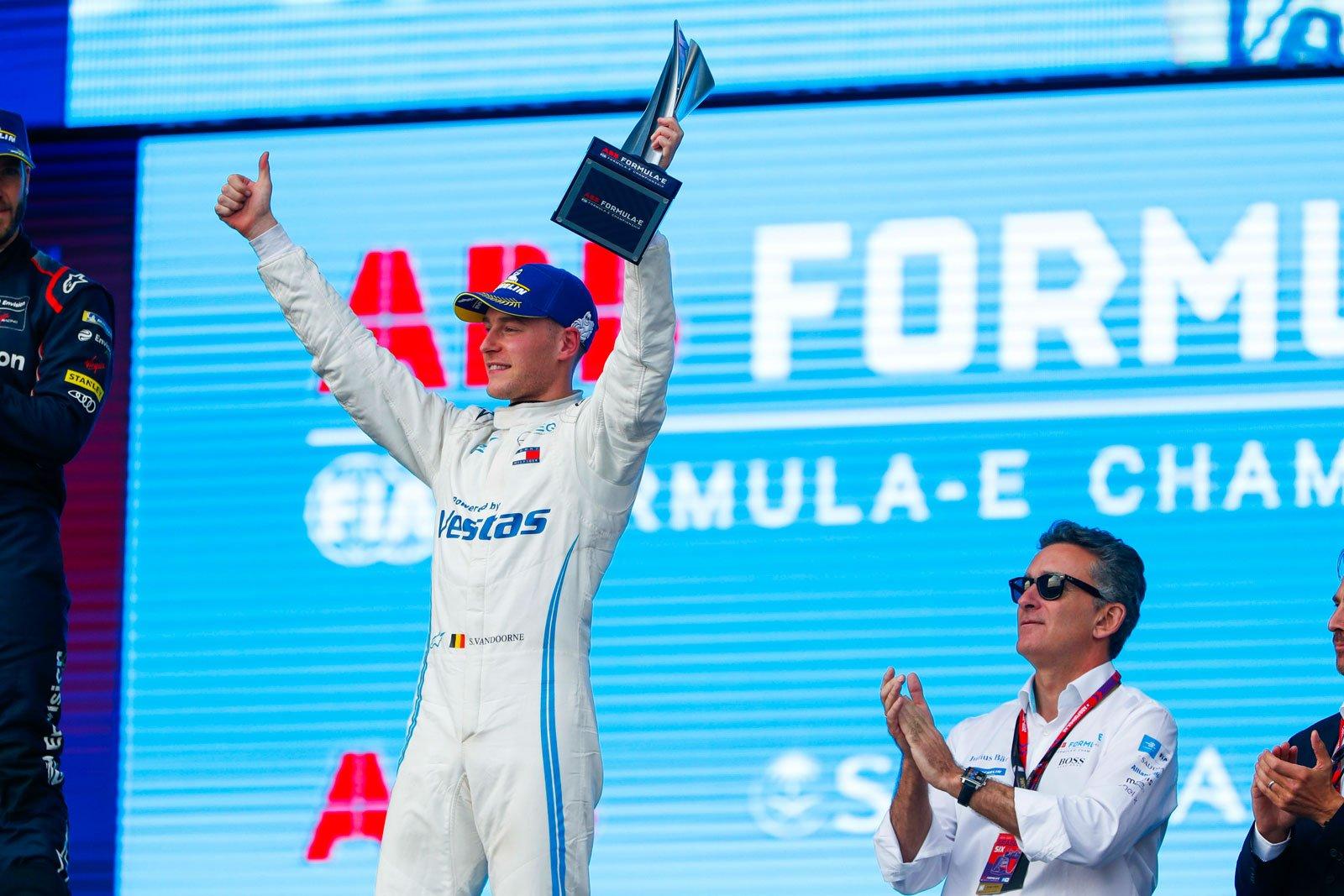 Formula E - Mercedes-Benz EQ Formula E Team, Diriyah E-Prix 2019. Stoffel Vandoorne.
