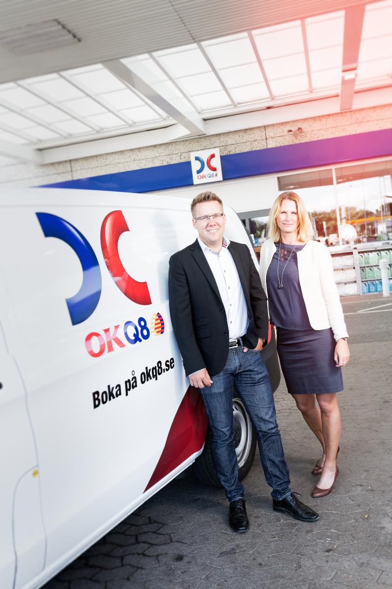 OKQ8 uppdaterar sitt stationsnät med Vito, Sprinter och V-klass ... : ok hyra lastbil : Inredning