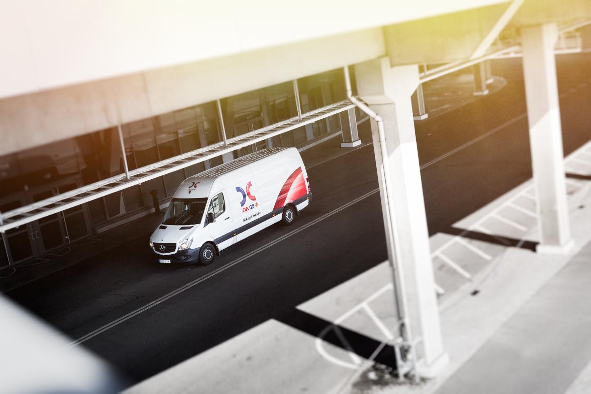 Inredning ok hyra lastbil : OKQ8 uppdaterar sitt stationsnät med Vito, Sprinter och V-klass ...