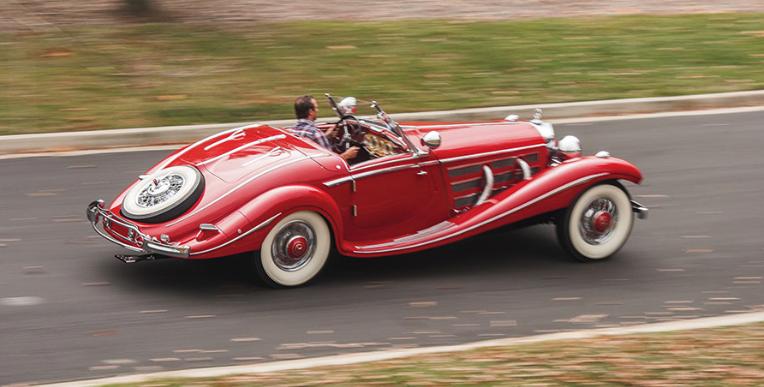 En Mercedes-Benz 540 K Special Roadster från 1937 har sålts för över 84 miljoner kronor vid en Sotheby-auktion i Scottsdale, Arizona.