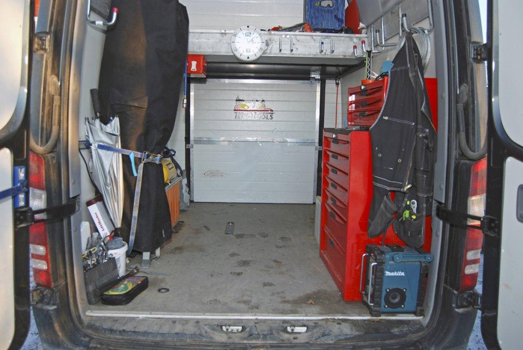 M-B Sprinter Garageport