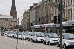 Car2Go i Hamburg