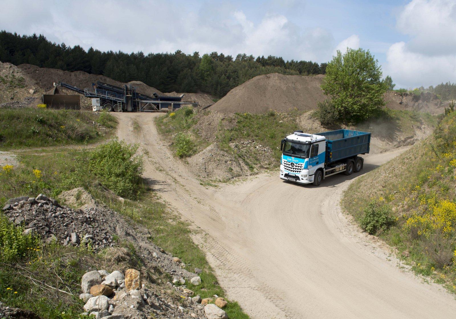 Arocs 2551 lastväxlare