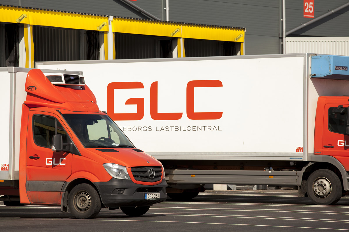 Med samma märke från 3,5 – 26 ton klarar Österbergs Åkeri sig med en enda verkstad fört alla bilar.