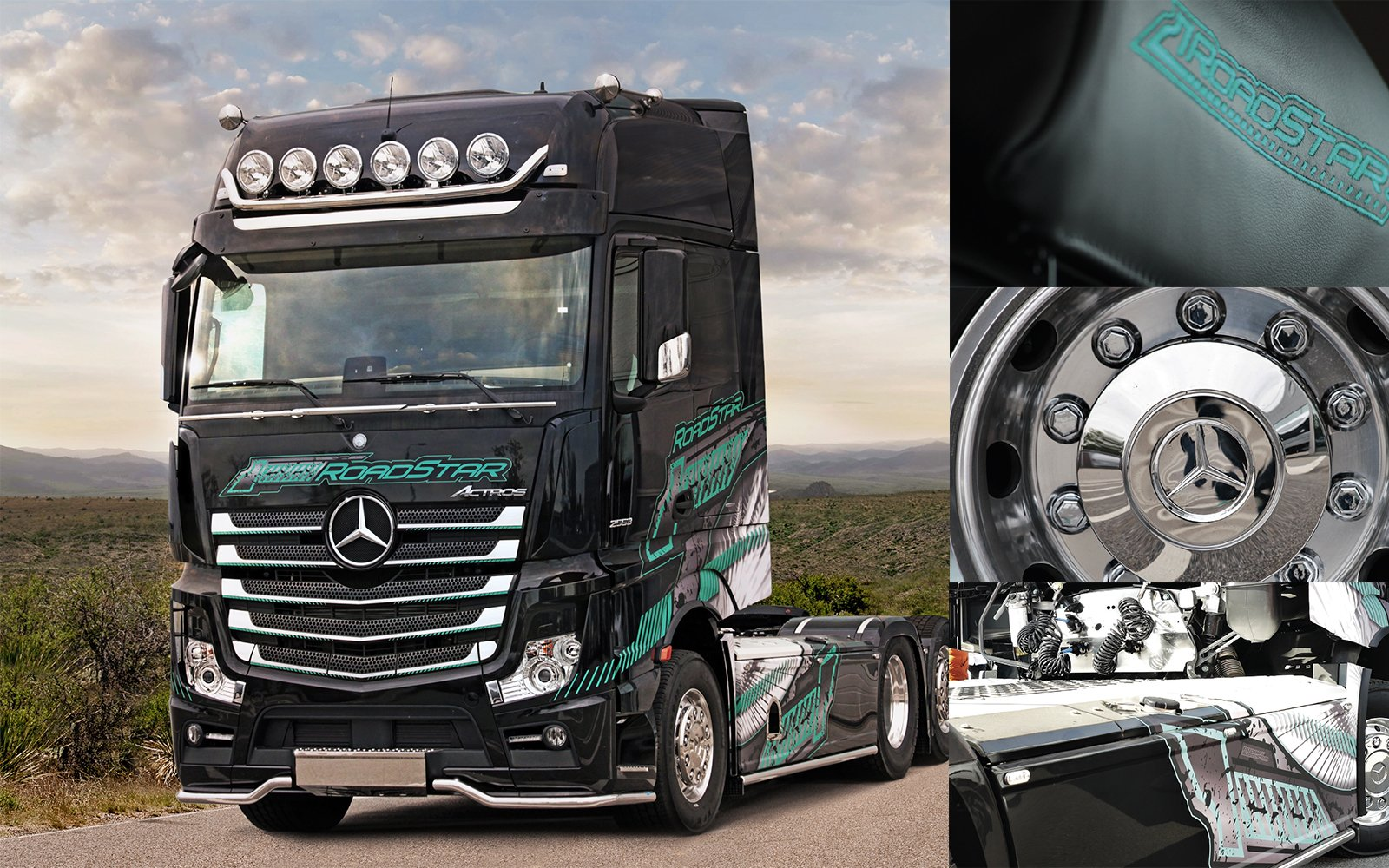 "Mercedes-Benz Actros ""RoadStar"""