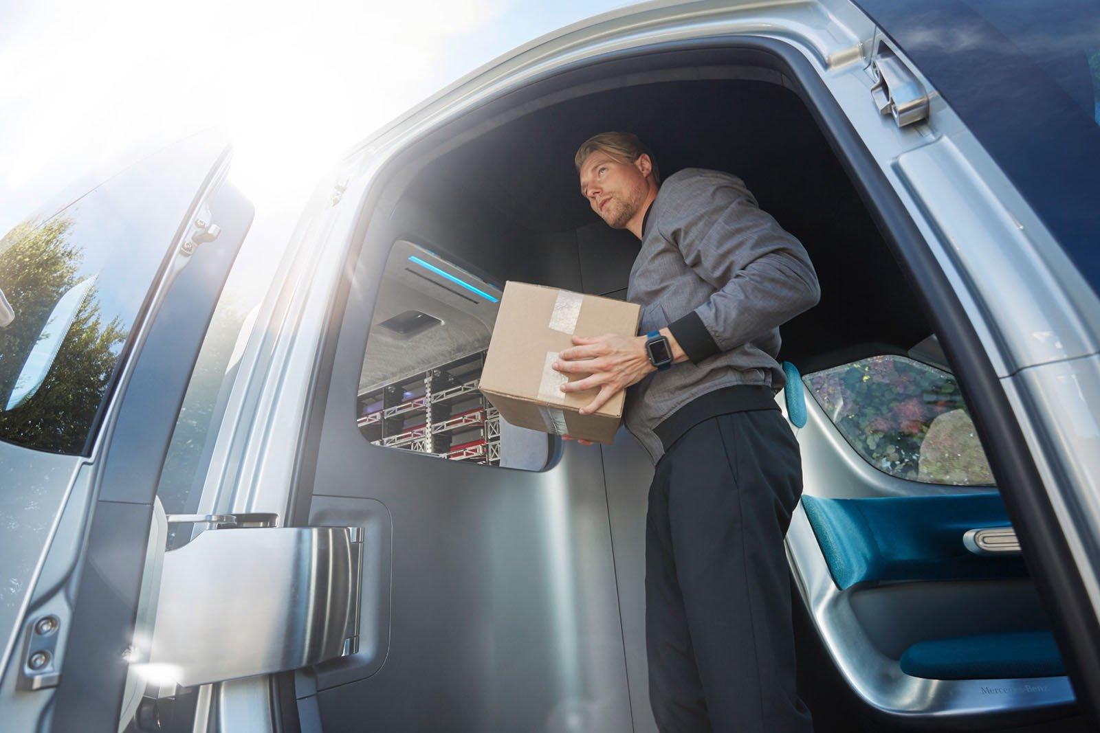 Föraren får enkelt rätt paket när denne anländer till kunden.