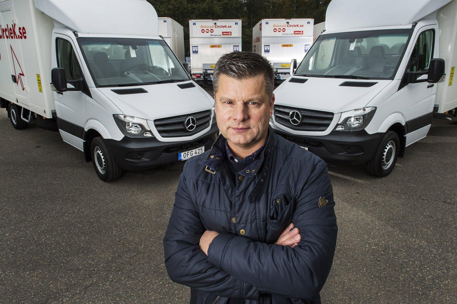 Per Johansson, försäljningschef på Autokaross.