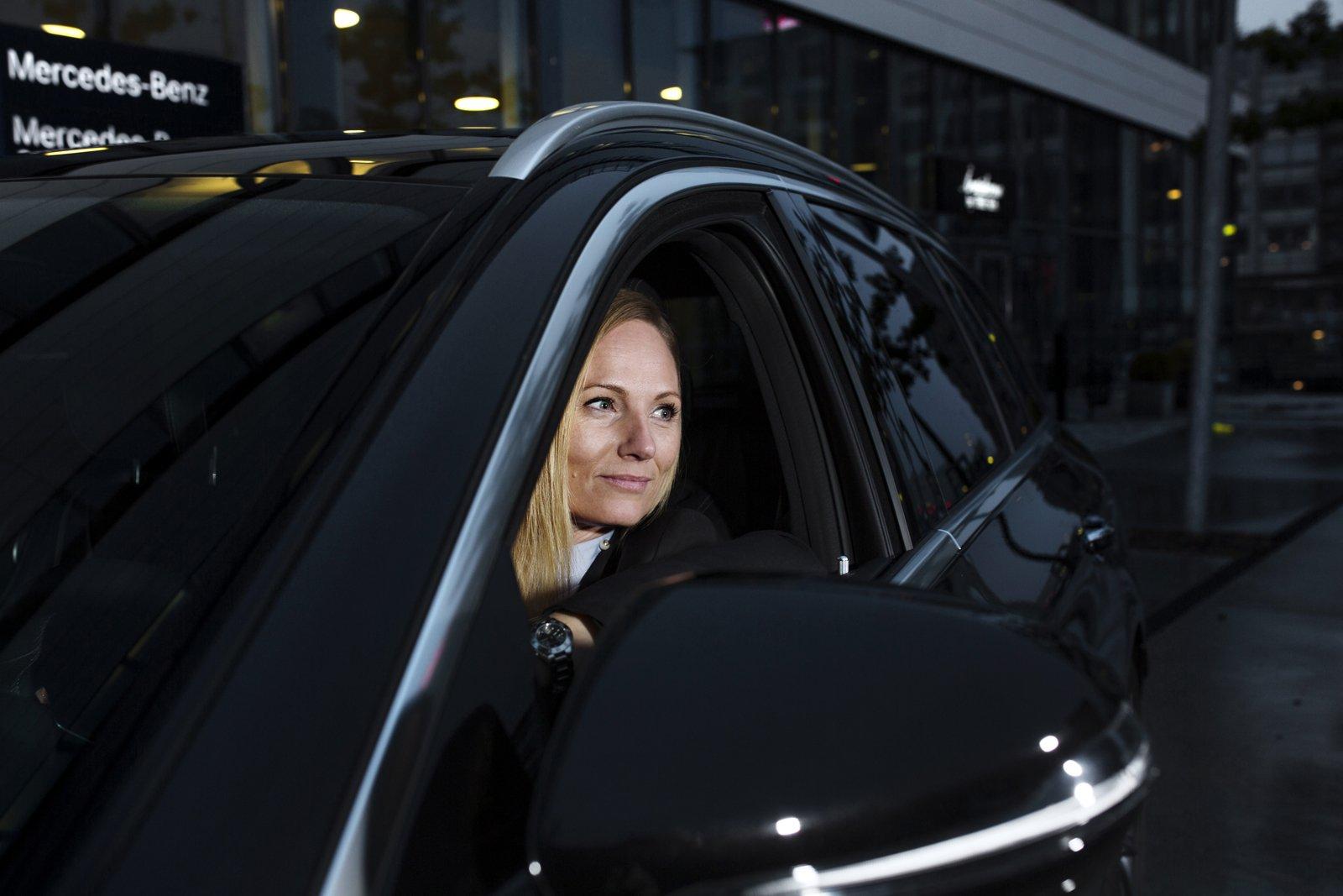 Rikke Hamilton - försäljningschef Mercedes Sverige Danmark. Foton: Jenny Leyman.