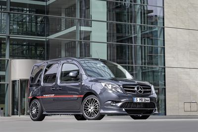 Försäljningsuppgång för Mercedes Citan med 30% under 2016