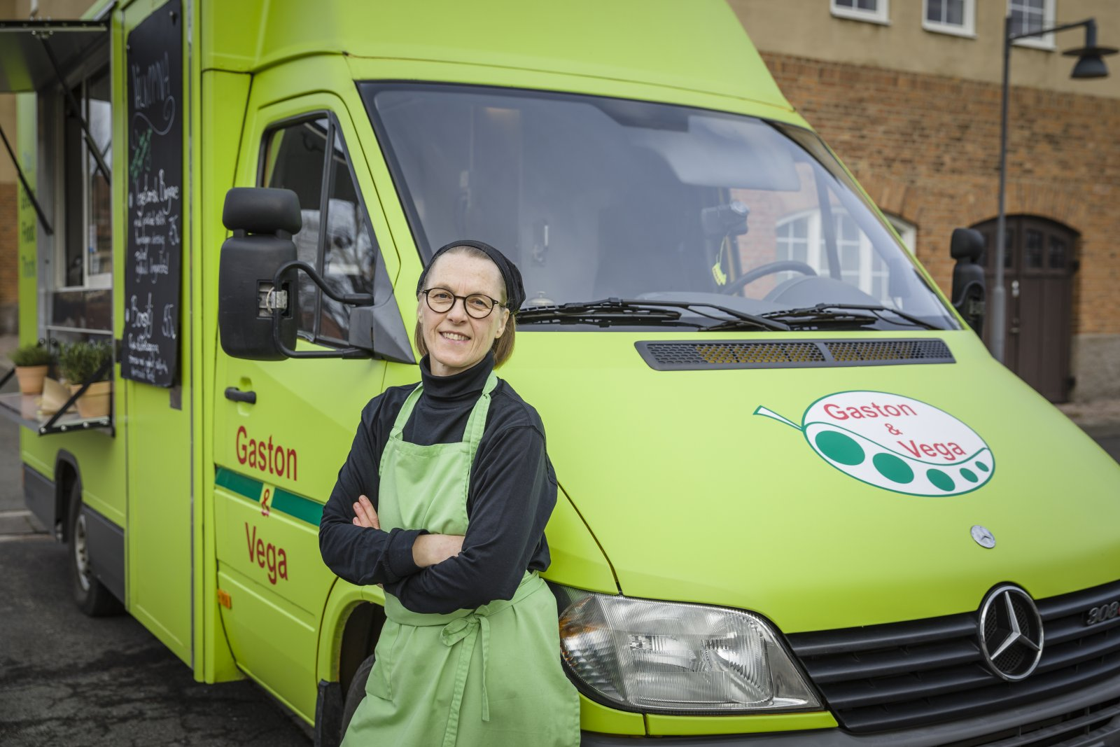 Annelie Idman, Gaston & Vega, the green food truck. © Sven Persson / swelo.se