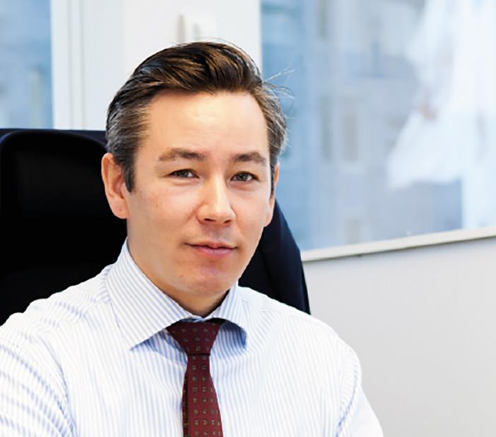 """""""Jag är inte bara imponerad, utan också riktigt glad över att jobba på Mercedes-Benz Finans."""" Jim Sawaguchi, ansvarig för kreditavdelningen på Mercedes-Benz Finans."""""""