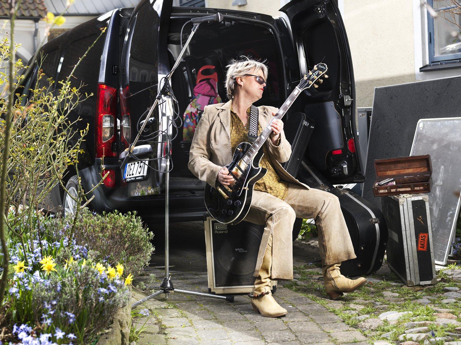 Funktionell transportbil och fräck turnébuss - Mercedes Citan uppfyller Marias behov