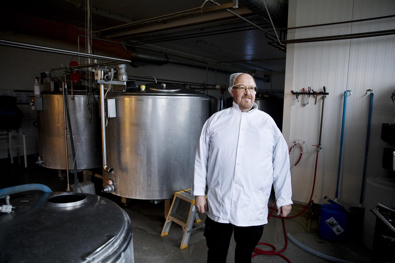 Stefan Andersson är försäljningschef på Otto & Glassfabriken.