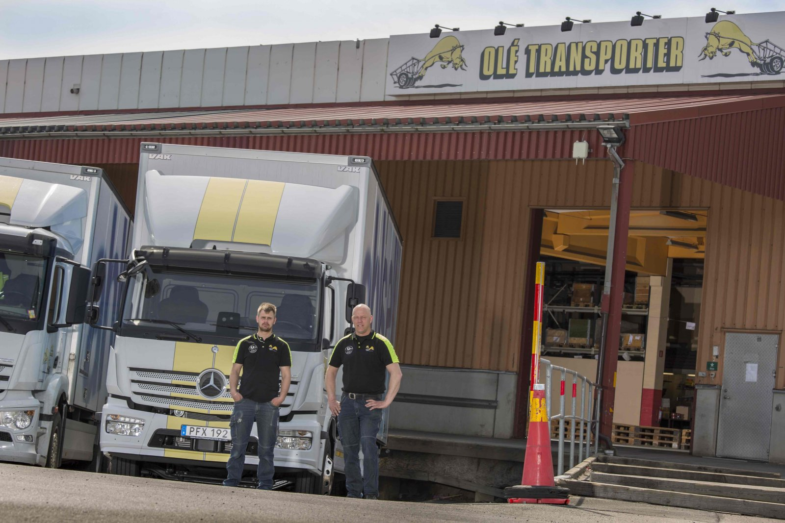 Olé Transporter. Foto: Therese Granbacke