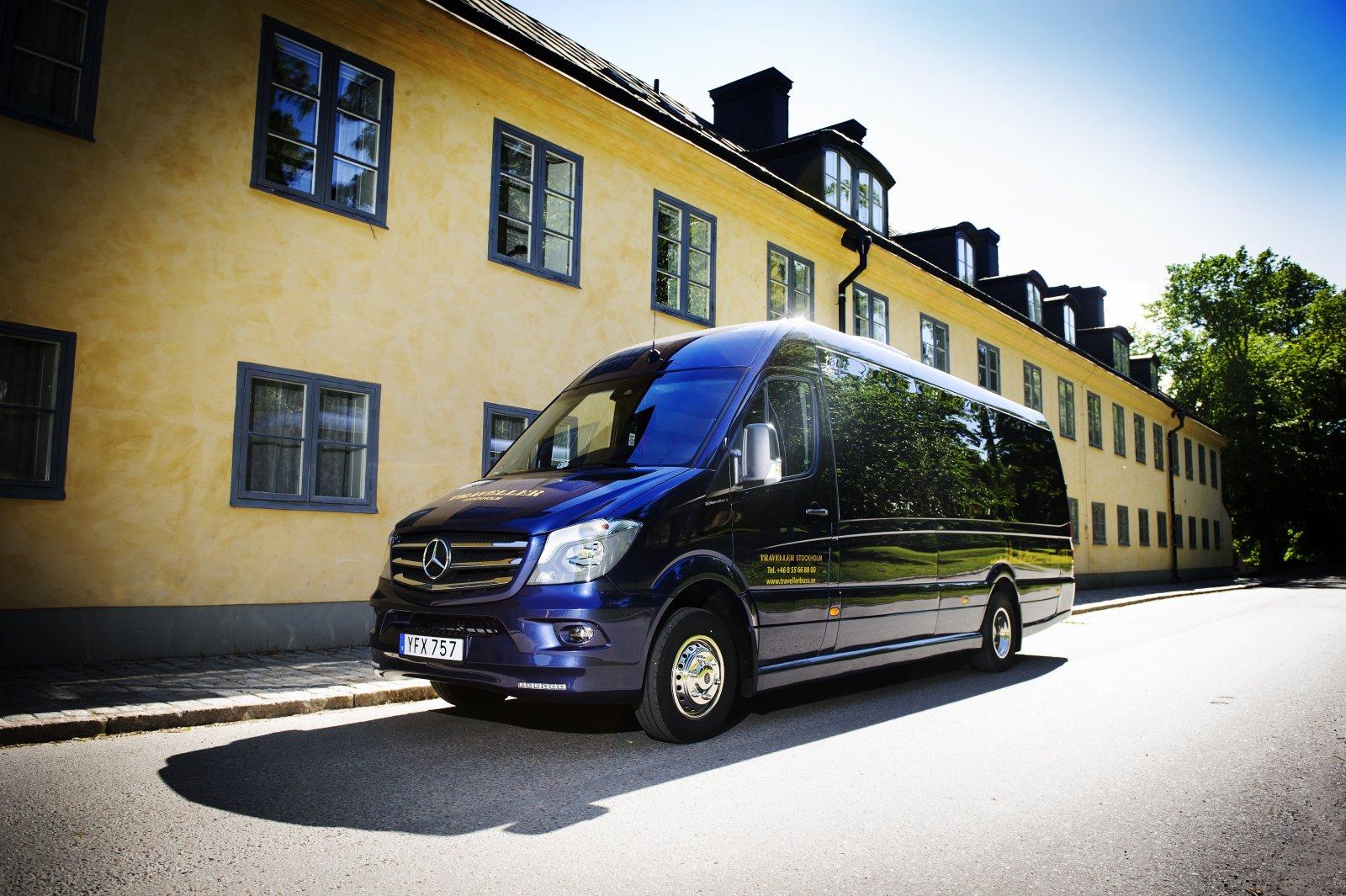 Traveller Buss har två Sprinter.