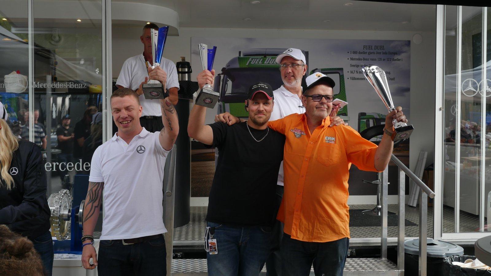 Daniel Nilsson, Daniel Asplund och Erik Lundman vann första upplagan av Stars of Stars!