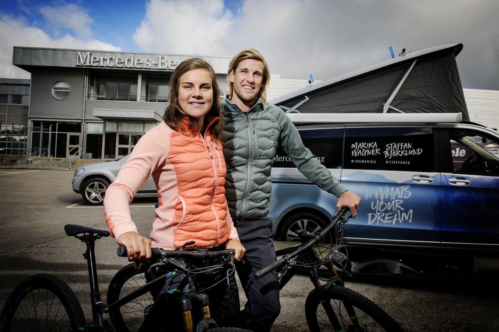 Äventyrarna Staffan Björklund och Marika Wagner är bland de bästa i världen inom sin tuffa sport.
