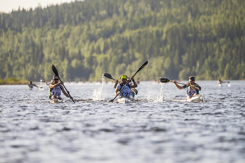 Att man kan tävla i lag i Åre Extreme Challenge, gör att fler kan vara med och tävla.