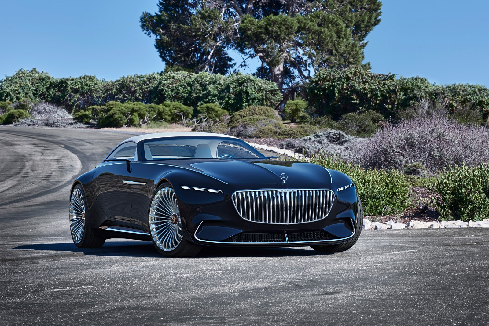 Konceptbilen Vision Mercedes-Maybach 6 Cabriolet.