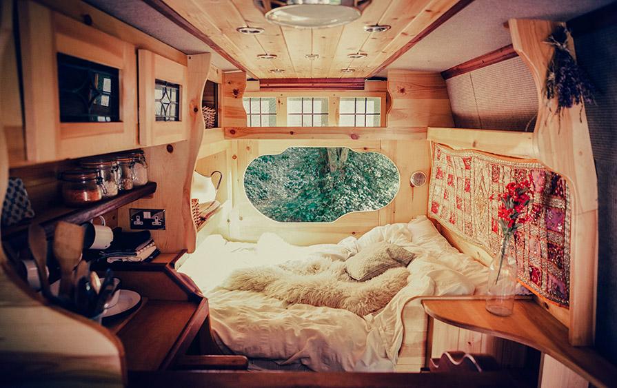Magic Mike - en av Quirky Campers häftiga ombyggda MB Vans