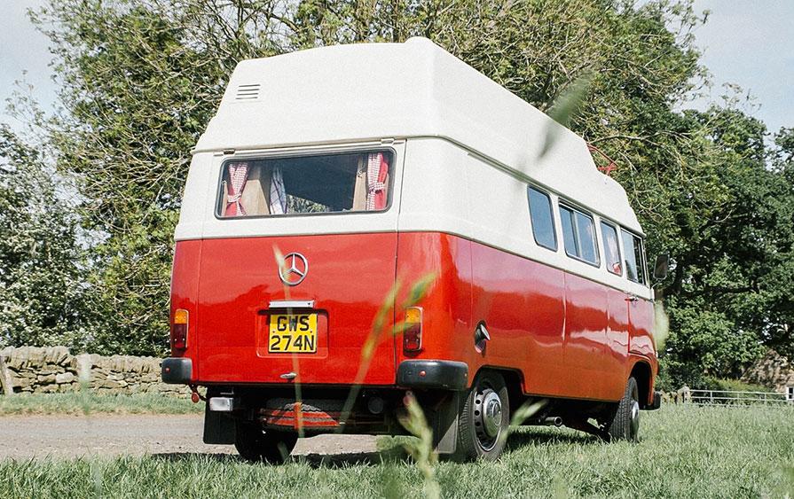 """Ruby"" - Mercedes-Benz Quirky Camper"