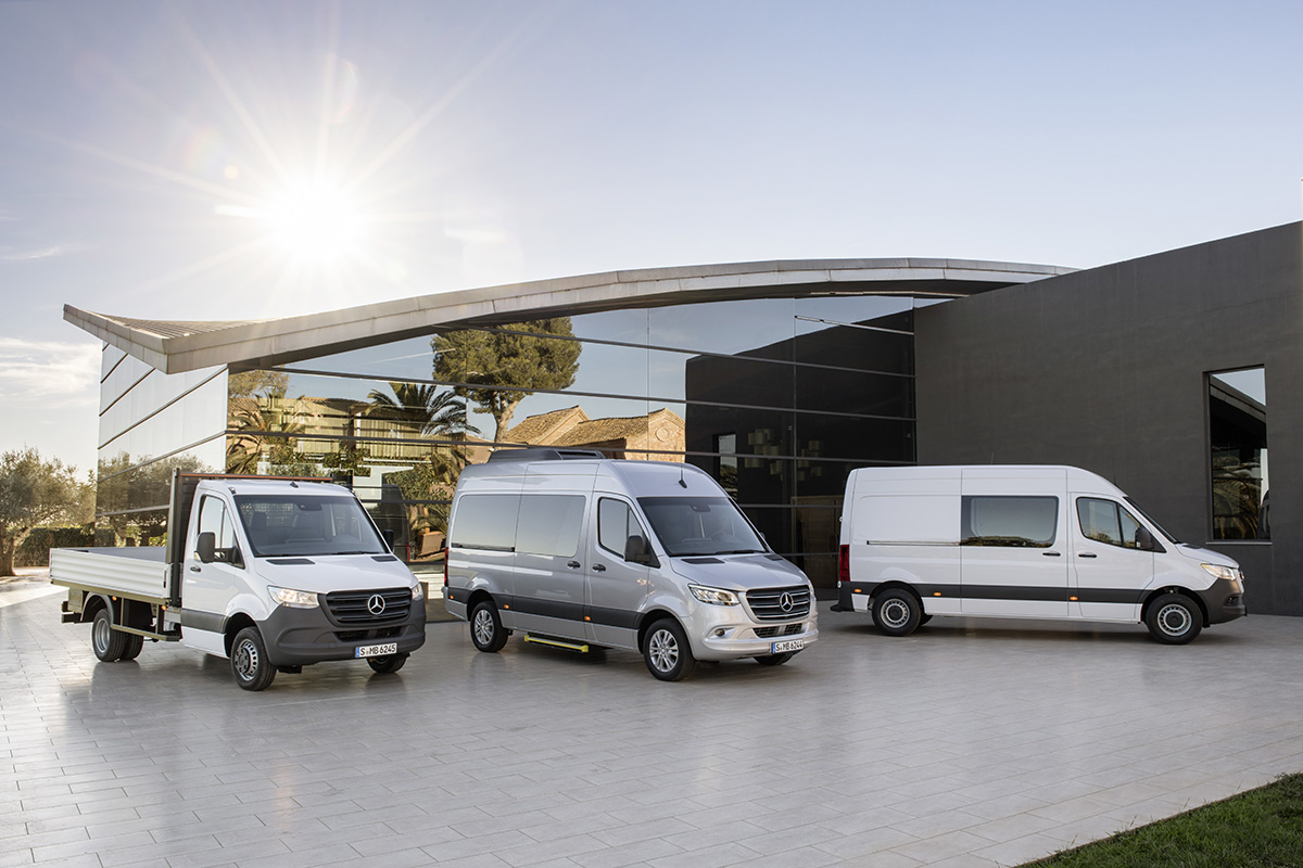 Mercedes-Benz Sprinter – Range Mercedes-Benz Sprinter – Range