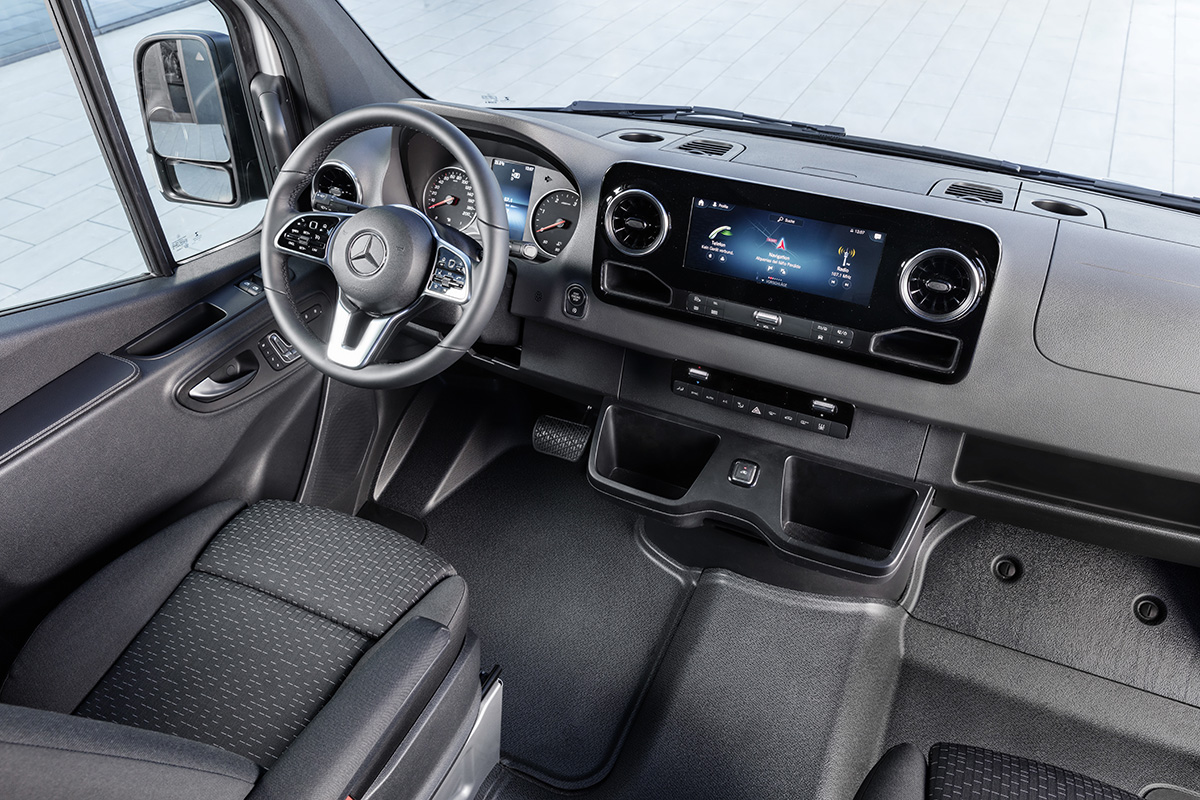 Mercedes-Benz Sprinter – Interieur Mercedes-Benz Sprinter – Interior