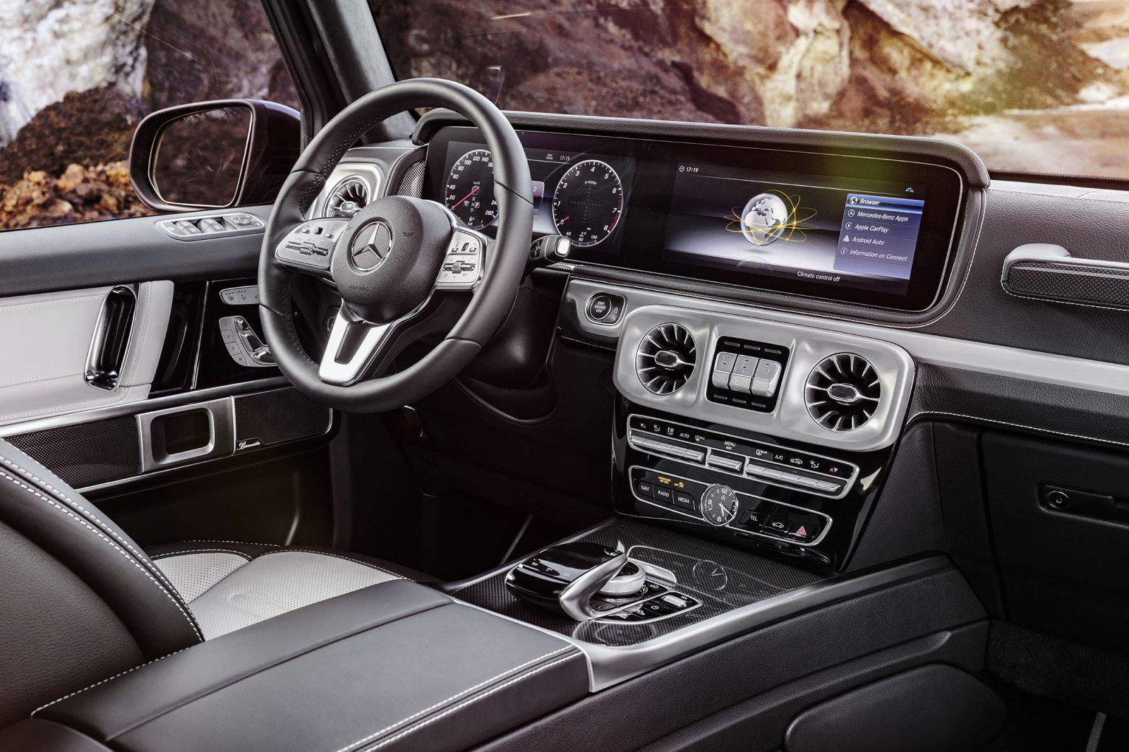 Mercedes-Benz G-Klass interiör 2018