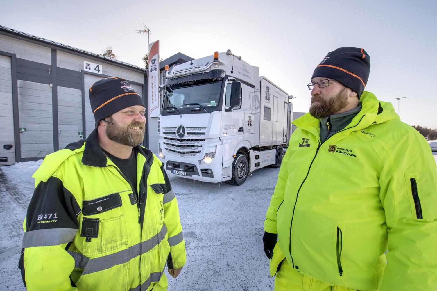 Björn Wallin och Anders Lotsberg